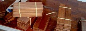 lantai kayu jati solid