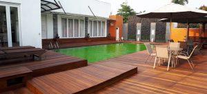 Project lantai kayu Rumah Pasha13