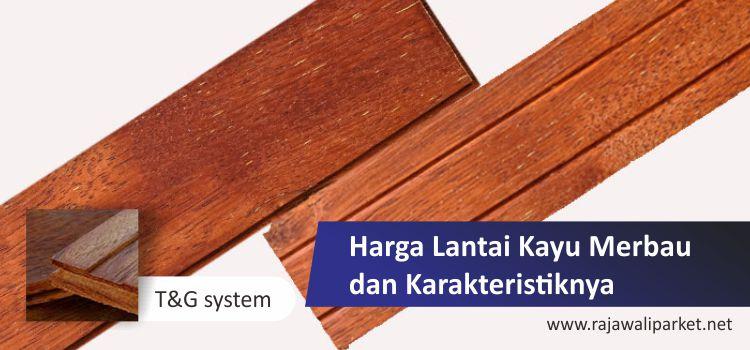 Harga flooring merbau