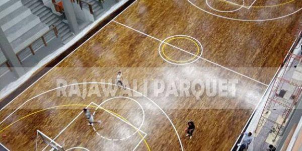 lantai kayu lapangan basket universitas Widyatama bandung 10
