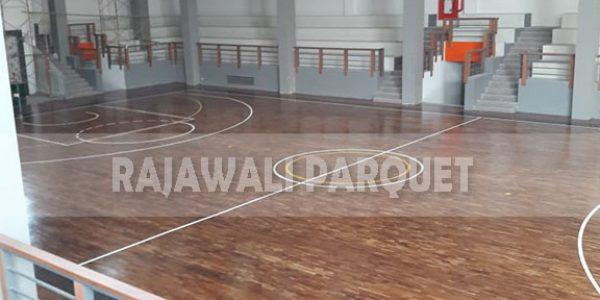 lantai kayu lapangan basket universitas Widyatama bandung 12