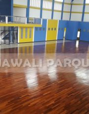 lantai kayu merbau lapangan universitas bengkulu 1