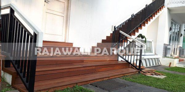 lantai kayu rumah pasha ungu Bogor 1
