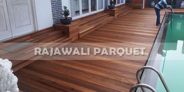 lantai kayu rumah pasha ungu Bogor 11