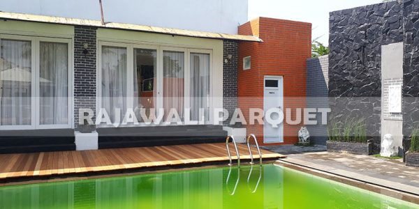 lantai kayu rumah pasha ungu Bogor 12