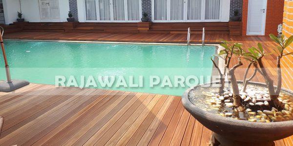 lantai kayu rumah pasha ungu Bogor 3