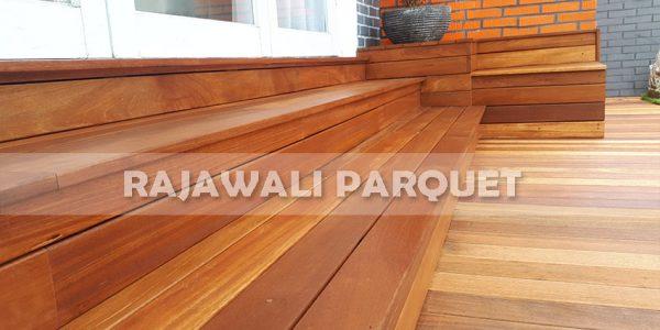 lantai kayu rumah pasha ungu Bogor 6