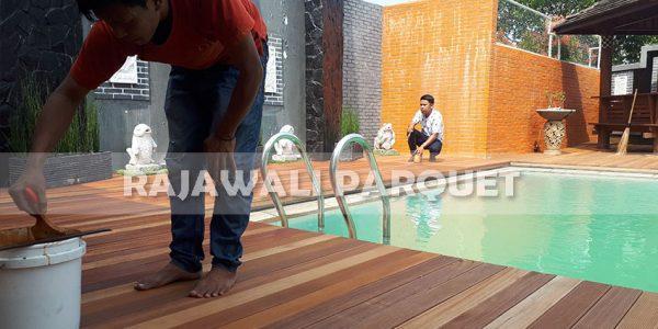 lantai kayu rumah pasha ungu Bogor 7