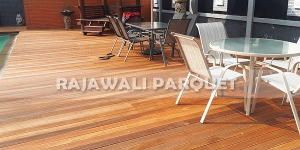 lantai kayu rumah pasha ungu Bogor 9