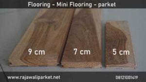 harga lantai kayu Jati murah lengkap