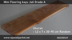 harga lantai kayu parket jati mini flooring