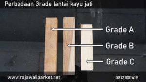 karakteristik dan spesifikasi lantai kayu jati