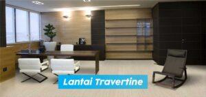 lantai Travertine
