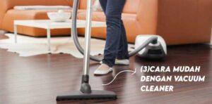 cara membersihkan lantai kayu