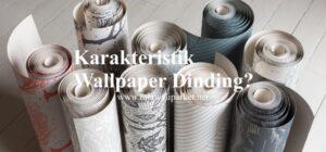 Perbandingan wallpaper dan lambersering