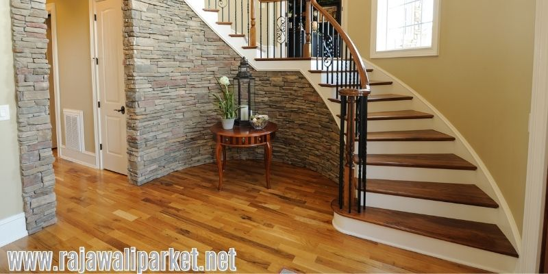Alternatif Lantai Terbaik Pengganti Keramik - lantai kayu solid