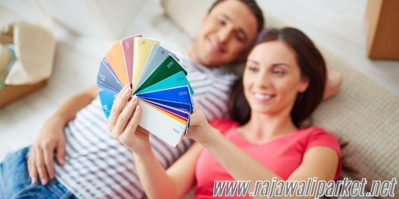 Cara Memilih Material Lantai - perhatikan warnanya