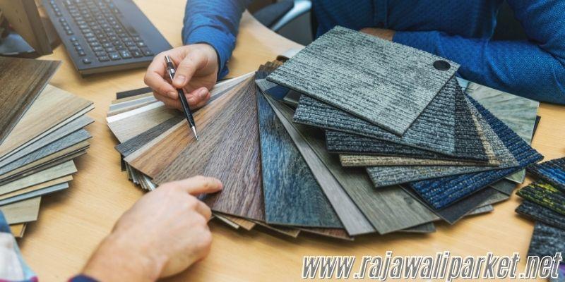 Cara Memilih Material Lantai - perhatikan motifnya