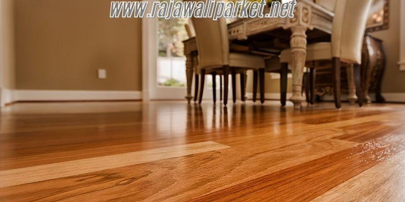 cara memilih material lantai - pilih lantai kayu sintetis