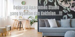 dekorasi apartemen studio